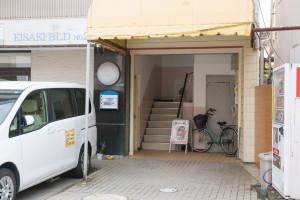 練馬レンタルスタジオの建物入口
