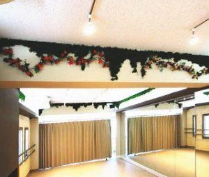 練馬 ダンススタジオ Sスタジオ は10名程度で使える スタジオ です。