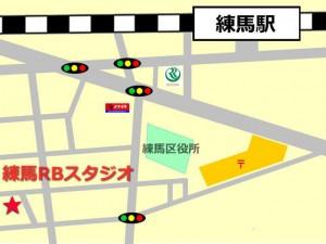 練馬駅 レンタルスタジオ RB は 練馬駅 7分 の場所にあります