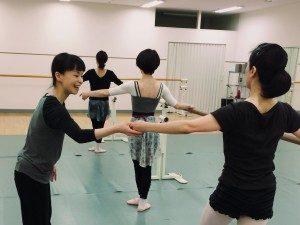 練馬 レンタルスタジオ で開催している バレエ教室 贄田麗帆 先生