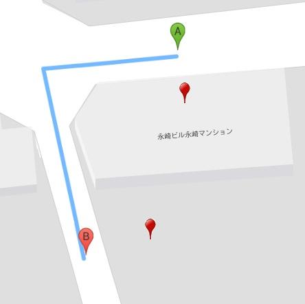 練馬 レンタルスタジオ 駐輪場 の場所はここです
