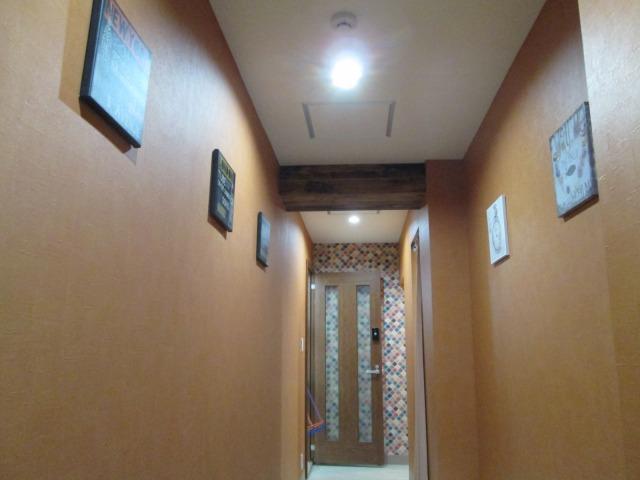 練馬RBスタジオ Shineスタジオ 室内写真 内廊下